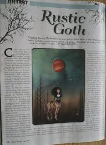 Gothic Beauty Magazine Interview